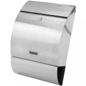 Poštová schránka - nerezová oceľ 33x48x17 cm