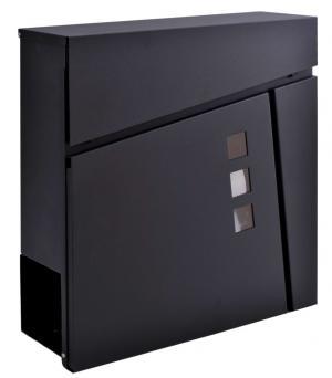 Poštová schránka Johan čierna