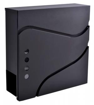 Poštovní schránka Sven černá