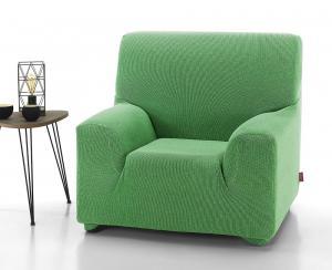 Poťah na kreslo Creta zelený 70-110 cm zelená