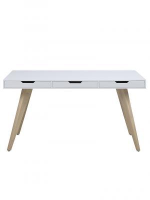 Pracovný stôl s 3 zásuvkami Edita, 140 cm
