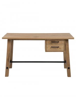 Pracovný stôl so zásuvkami Kiruna, 130 cm