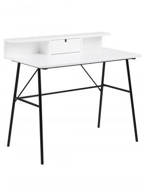Pracovný stôl so zásuvkou Calina, 100 cm