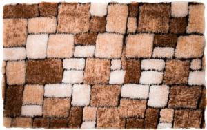 Predložka Mozaika, gaštanová Barva: gaštanová, Velikost: WC 50x40cm