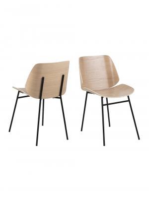 Preglejková retro stoličky k jedálenskému stolu Smuk