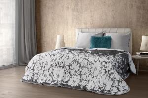 Prehoz na posteľ 210x170cm - Eurofirany - Angela (biela). Akcia -10%. Sme autorizovaný predajca Eurofirany.