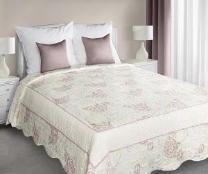 Prehoz na posteľ 210x170cm - Eurofirany - Megan (ružová). Akcia -10%. Sme autorizovaný predajca Eurofirany.