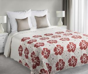 Prehoz na posteľ 240x220cm - Eurofirany - Mia (krémová). Sme autorizovaný predajca Eurofirany.