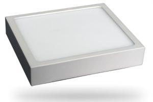 Prémiový hranatý slim LED panel 6W na povrchovú inštaláciu
