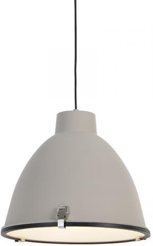 Priemyselná závesná lampa hnedá 38 cm - Anteros