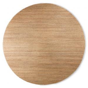 Prírodné guľatý konopný koberec Hemp - Ø 250cm