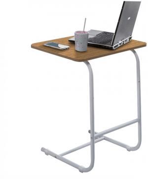 Príručný stolík, dub/biela, MARONE