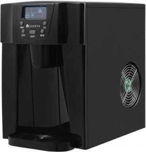 Prístroj na výrobu ľadu PIM200L v čiernej farbe