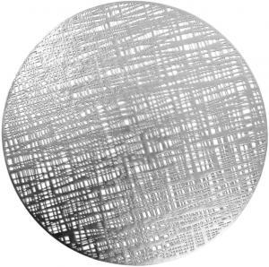 Prostírání CALIPSO stříbrná Ø 38 cm Mybesthome