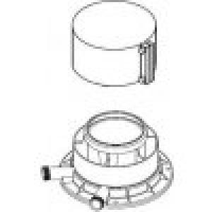 Protherm A25K adaptér na dymovody 80/125 mm ku kondenzačným kotlom