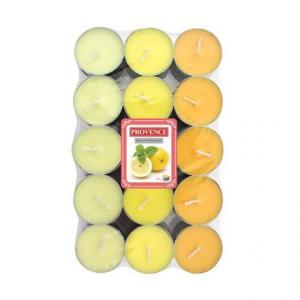 Provence Čajová sviečka PROVENCE 30ks citrón