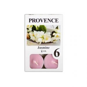 Provence Čajová sviečka PROVENCE 6ks jazmín