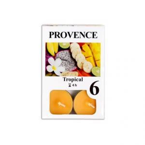 Provence Čajová sviečka PROVENCE 6ks tropical