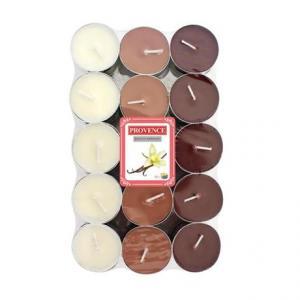 Provence Čajová sviečka PROVENCE 30ks vanilka