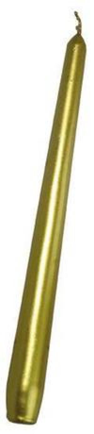 Provence Kónická sviečka 24,5cm PROVENCE zlatá