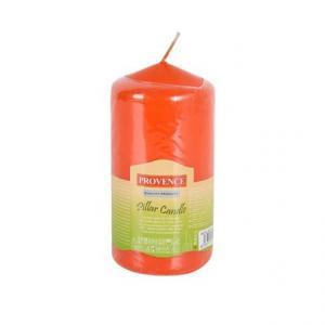 Provence Neparfumovaná sviečka PROVENCE 12,5cm oranžová