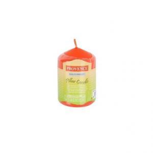Provence Neparfumovaná sviečka PROVENCE 8cm oranžová