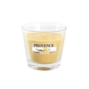 Provence Vonná sviečka v skle PROVENCE 140g, vanilka