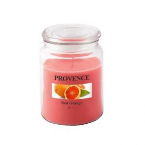 Provence Vonná sviečka v skle PROVENCE 510g, červený pomaranč
