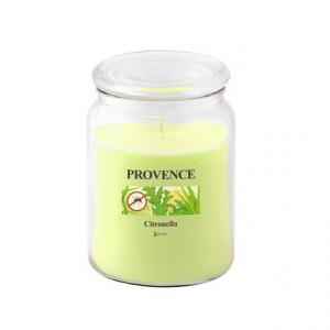 Provence Vonná sviečka v skle PROVENCE 510g, citronela