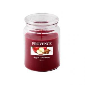 Provence Vonná sviečka v skle PROVENCE 510g, jablko a škorica