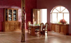 PYKA Kinga 160 rustikálna manželská posteľ drevo D3