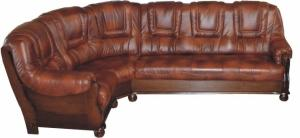 PYKA Roma L kožená rohová sedačka D3 / S42