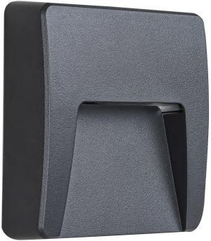 Rabalux 8894 Trento vonkajšie nástenné LED svietidlo, čierna