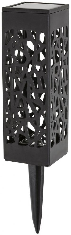 Rabalux 8949 Mora Solárne LED zapichovacie svietidlo, čierna