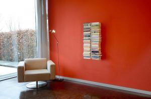 Radius design cologne Knižnica 10 poličiek RADIUS DESIGN (BOOKSBAUM silber WAND 1 KLEIN 720C) strieborná
