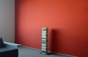 Radius design cologne Knižnica 5 poličiek RADIUS DESIGN (BOOKSBAUM schwarz 2 STAND SMALL 734A) čierna