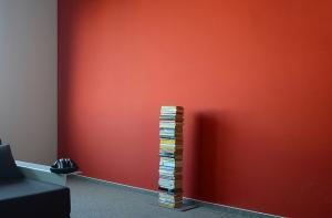 Radius design cologne Knižnica 5 poličiek RADIUS DESIGN (BOOKSBAUM silver 2 STAND SMALL 734C) strieborna