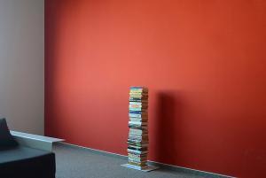 Radius design cologne Knižnica 5 poličiek RADIUS DESIGN (BOOKSBAUM white 2 STAND SMALL 734B) bielá