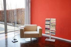 Radius design cologne Knižnica 8 poličiek RADIUS DESIGN (BOOKSBAUM silber STAND KLEIN 716C) strieborná