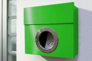 Radius design cologne Schránka na listy RADIUS DESIGN (LETTERMANN 1grün 506B) zelená
