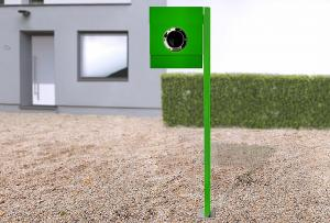 Radius design cologne Schránka na listy RADIUS DESIGN (LETTERMANN 2 green 564b) zelená
