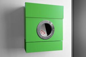 Radius design cologne Schránka na listy RADIUS DESIGN (LETTERMANN 2 grün 505B) zelená