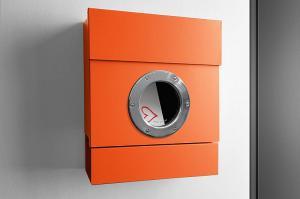 Radius design cologne Schránka na listy RADIUS DESIGN (LETTERMANN 2 orange 505A) oranžová