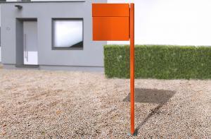 Radius design cologne Schránka na listy RADIUS DESIGN (LETTERMANN 4 orange 565A) oranžová