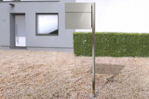 Radius design cologne Schránka na listy RADIUS DESIGN (LETTERMANN 4 stainless steel 565) nerez