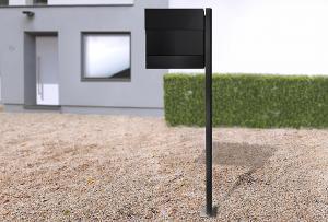 Radius design cologne Schránka na listy RADIUS DESIGN (LETTERMANN 5 black 566F) čierná