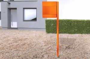 Radius design cologne Schránka na listy RADIUS DESIGN (LETTERMANN 5 orange 566A) oranžová