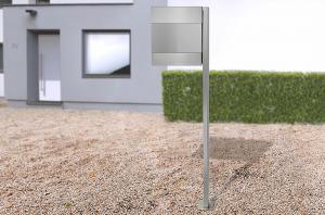 Radius design cologne Schránka na listy RADIUS DESIGN (LETTERMANN 5 silver 566C) strieborná