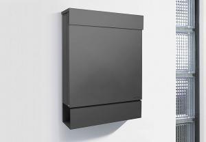 Radius design cologne Schránka na listy RADIUS DESIGN (LETTERMANN M anthracite 762G) antracit