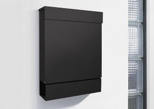 Radius design cologne Schránka na listy RADIUS DESIGN (LETTERMANN M black 762F) čierná